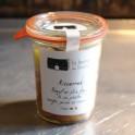 """Ossenstaart met foie gras """"á la presse"""" salie, peer en tamarinde"""